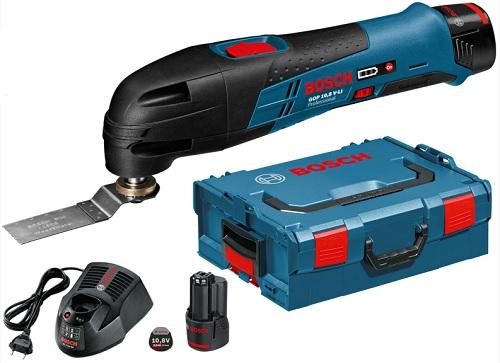 BOSCH GOP 10,8 V-LI Multi-Cutter L-Boxx (2 aku)