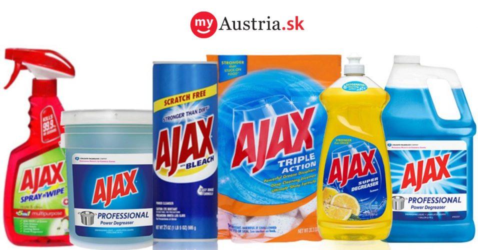 Ajax čistiace prostriedky