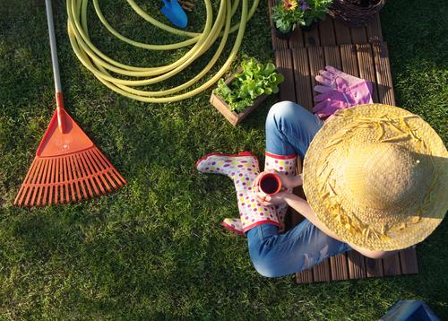 Príprava na jarnú úpravu záhrady